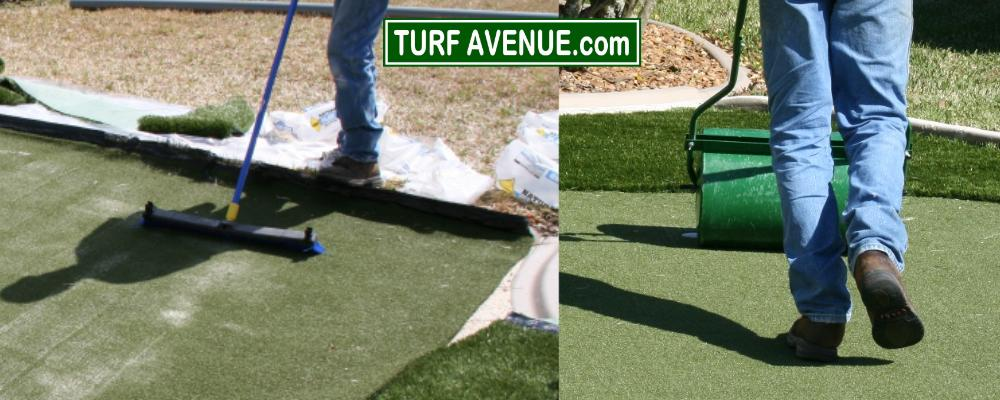 Roll your putting green for speed